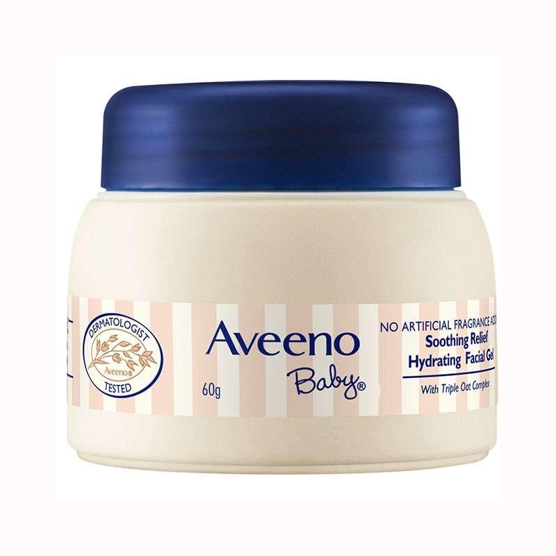 艾惟诺(Aveeno)婴儿面霜 舒缓柔嫩保湿凝露宝宝润肤露儿童保湿凝露 60g【8801108000365】
