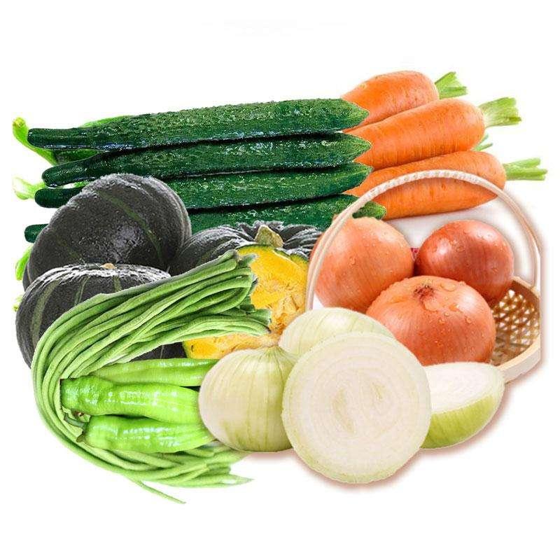 山东蔬菜组合套餐B 3kg装【顺丰包邮】