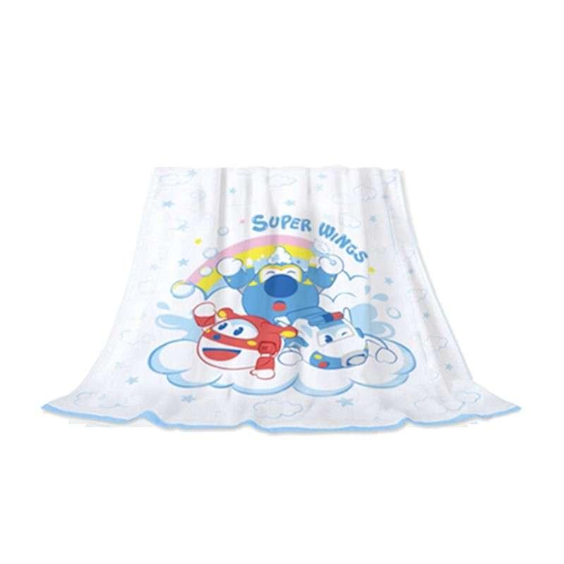 超级飞侠  浴巾毯90cm*90cm