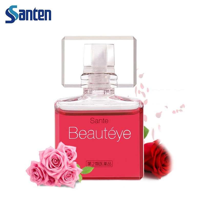 参天(santen-fx)玫瑰眼药水去红血丝滴眼 12ml