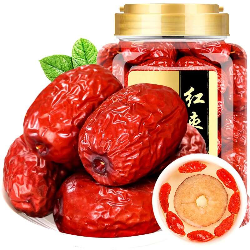 【福东海】若羌红枣400克罐装FDH091