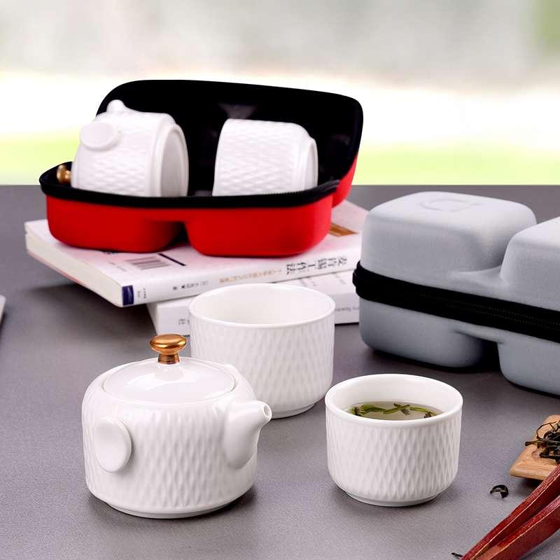 全瓷时代 旅行茶具套装LC-SJL06