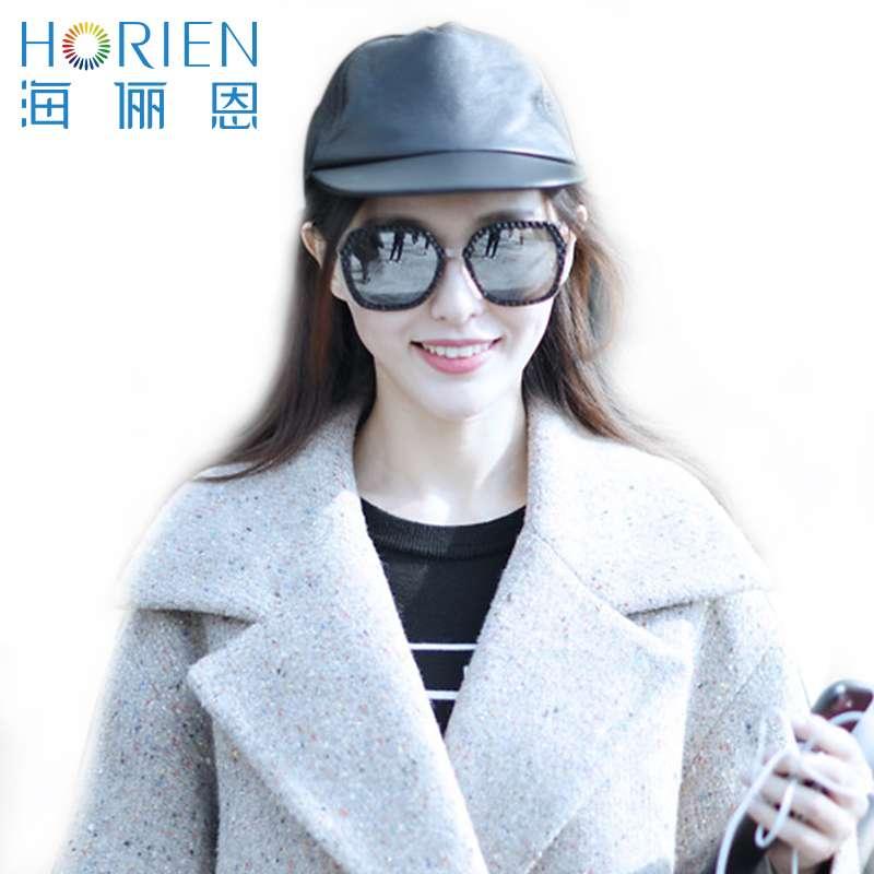 海俪恩太阳镜/女款N6526TD51水银膜镜片+曜石黑框