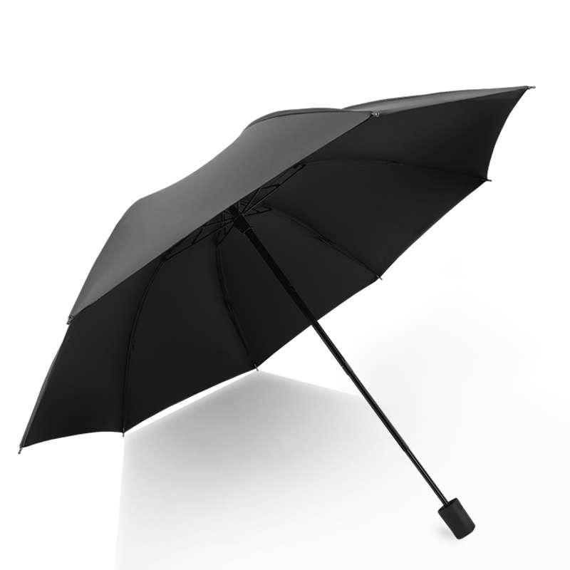 金丝莉品韵晴雨两用伞JS-201黑
