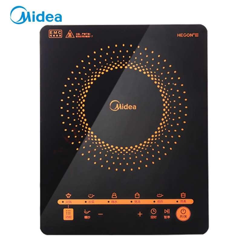 电磁炉多功能大功率 触控黑晶面板 智能暂停 4D防水