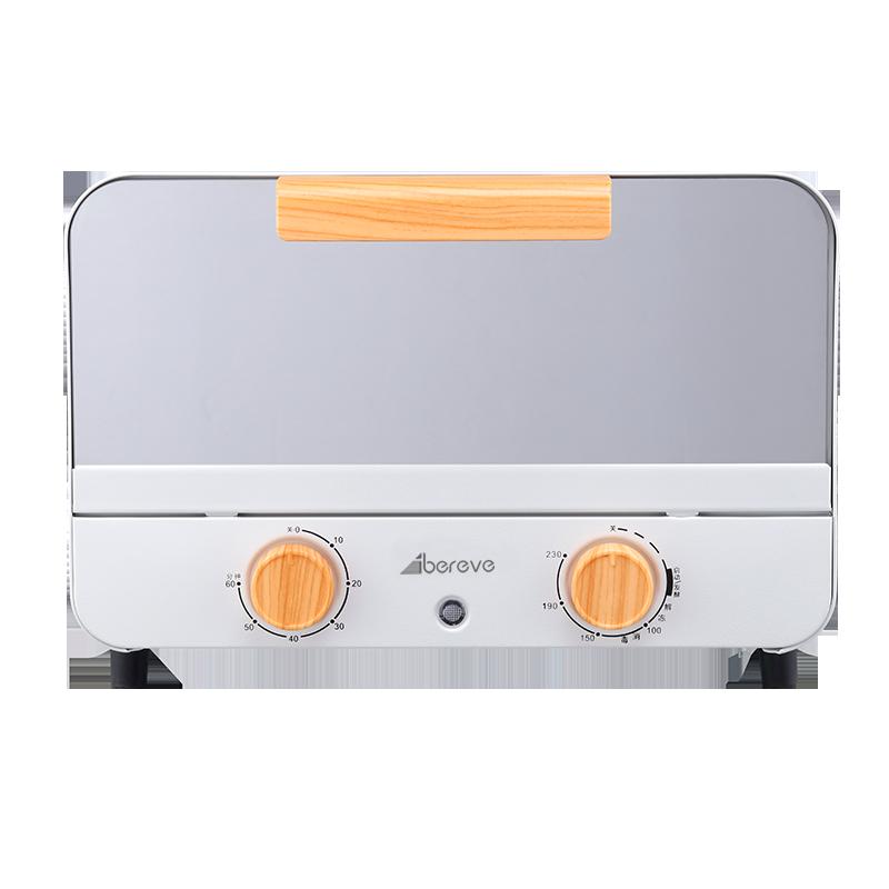 艾贝丽(ATS-1201) 12L电烤箱 白色 产品尺寸(mm) 340*210*232