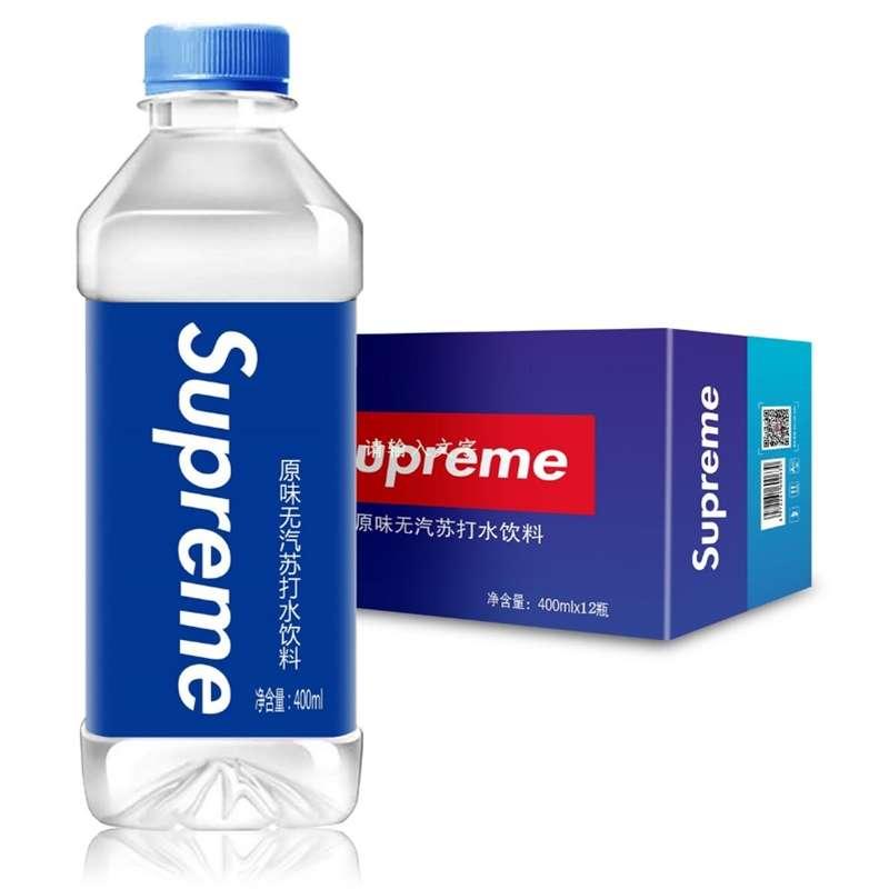 supreme原味苏打水饮料400ml*12瓶