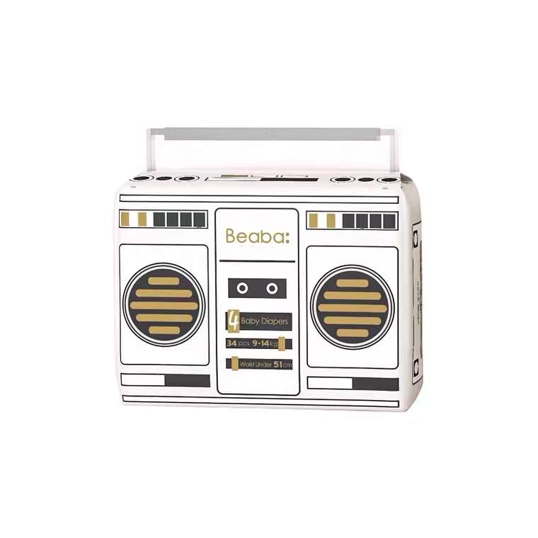 碧芭宝贝(Beaba)Baby Radio收音机系列纸尿裤*2包(S/M/L/XL)