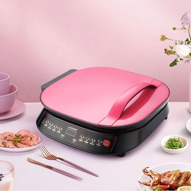 利仁(Liven)电饼铛家用双面加热侧开烙饼机煎饼锅LR-FD3401(小博士)