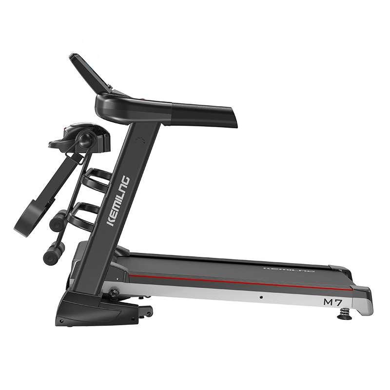 柯迈龙M7 家用电动跑步机室内超静音多功能跑步机减肥折叠健身器材 单功能和多功能可选 M7多功能