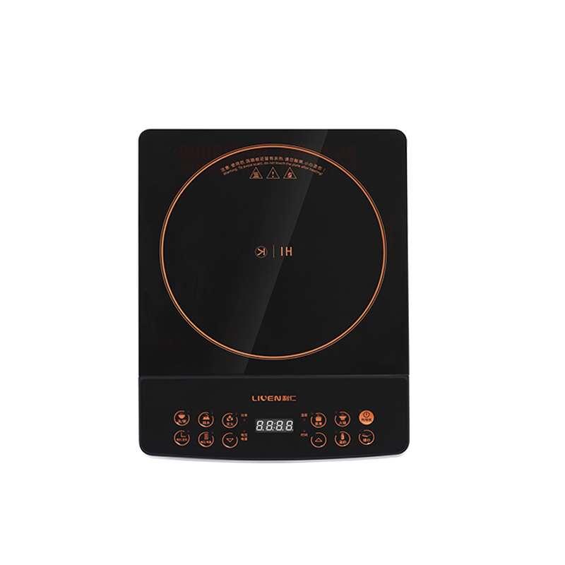 利仁(Liven)电磁炉套装整板触控黑晶面板多功能大功率一键爆LPDC-20