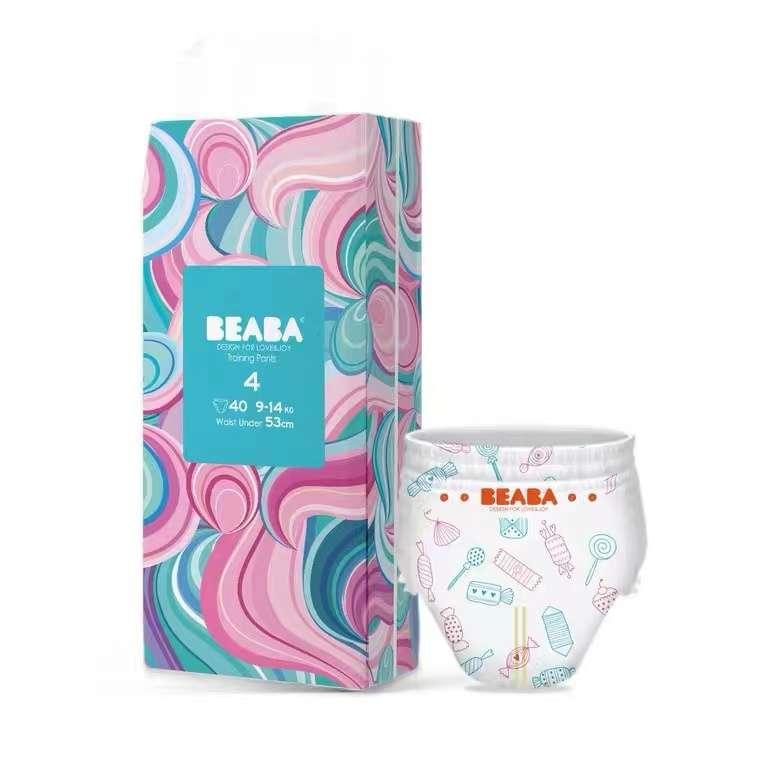 碧芭宝贝(Beaba)糖果系列拉拉裤*2包(L/XL/XXL)
