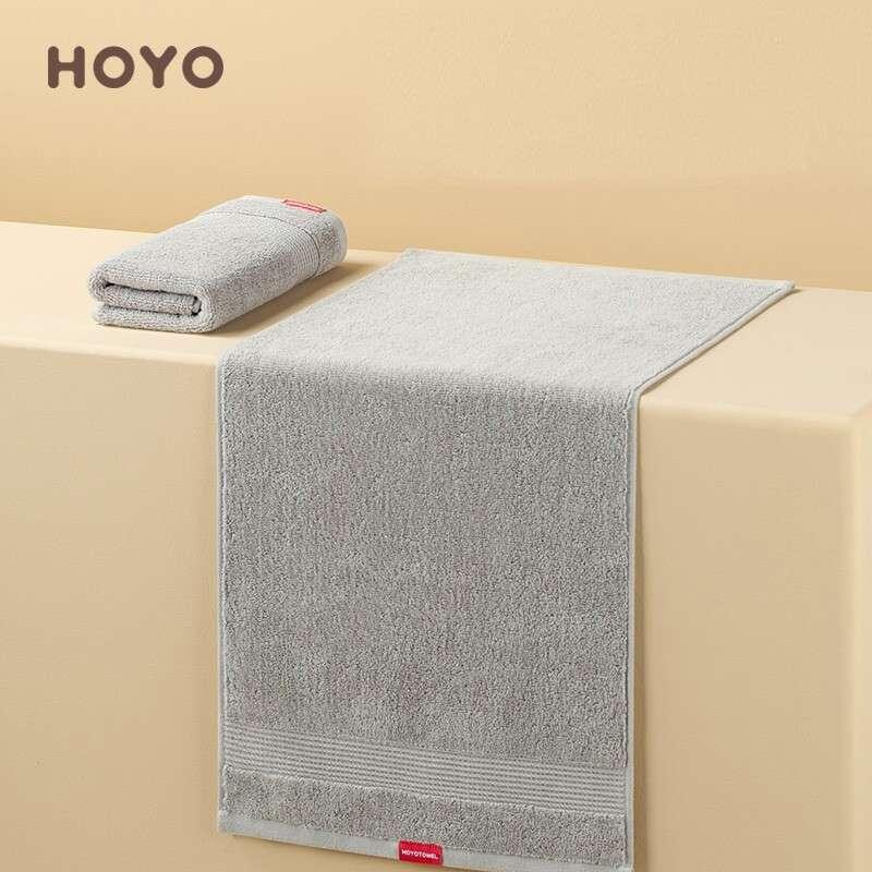 日本和风HOYO抗菌毛巾单条牛皮纸-青灰色(33*72cm)