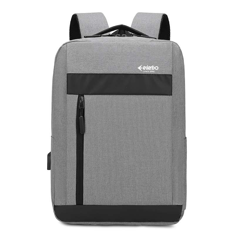 爱登堡(Edenbo)商务休闲双肩包F1721-1灰色