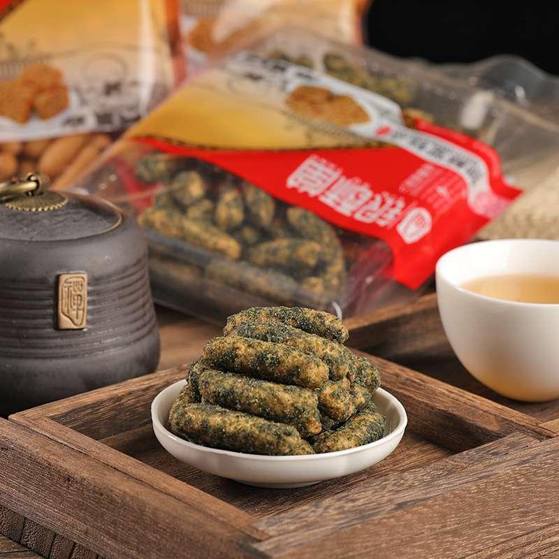 福州传统糕点海苔寸枣150g*4包保质期:90天)