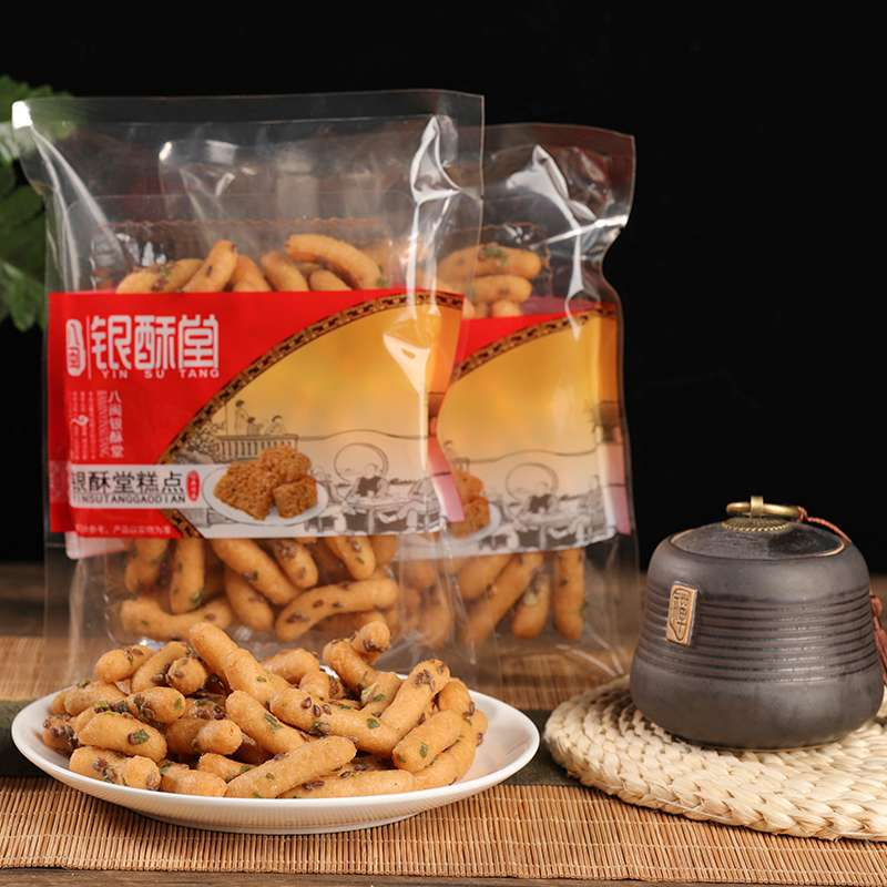 福州传统糕点亚麻小京果寸枣150g*4包保质期:90天)